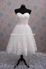 Beach Strapless Sleeve Wedding Dresses
