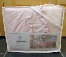 Simply Shabby Chic Twin Duvet Set Pink Ruffled  Rachel Ashwell Cottage NEW