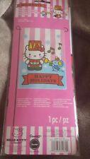 "Hello Kitty Mini Garden Flag Little Drummer & Mouse Happy Holiday 12"" x 18"" NIP"