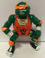 TMNT 1991 Teenage Mutant Ninja Turtles Sewer Shell Slammin Michelangelo Wrestler