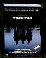 Mystic River (DVD, 2004, Widescreen) Sean Penn Kevin Bacon By Clint Eastwood