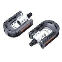 2 x Folding Pedal in Black for Bike Bicycle Cycling MTB V6L7
