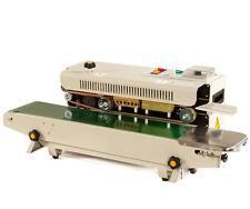 220v Automatic Plastic Bag Continuous Band Sealer Horizontal Sealing Machine