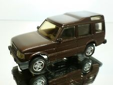 PARADCAR LAND ROVER DISCOVERY - BROWN METALLIC 1:43 - EXCELLENT CONDITION - 4