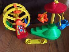 Fisher Price Ferris Wheel  Airplane Ride Amusement Park 1993