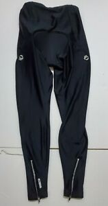 Pearl Izumi Therma Fleece Padded Cycling Compression Pants WOMENS MED Black 3M