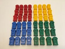Monopoly Junior Genuine Replacement Parts 48 Ticket Booths 2005