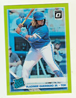 2019 Donruss Optic LIME GREEN PRIZM VLADIMIR GUERRERO JR RC Rookie QTY AVAILABLE