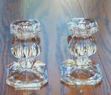 """Nice Pair Of 4"""" Tall Candlesticks Unknown Maker"""