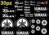 MAXI KIT 30 PZ DI ADESIVI YAMAHA OLD  TMAX  T- MAX 500 - 530 COLORE BIANCO