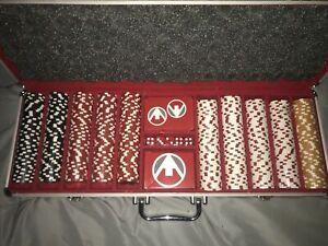 Cartamundi - 500 Dice-Style Casino-Weight Poker Chip Set