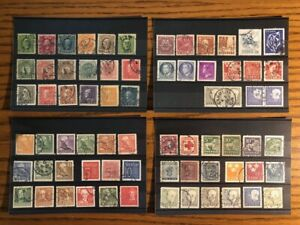 Sweden Sverige Stamp Lot Worldwide Group Collection