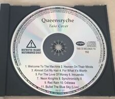 QUEENSRYCHE  -  TAKE COVER - US 11-TRACK PROMO CD - RARE !! MAIDEN METALLICA