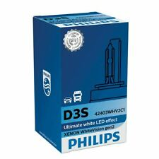 Philips D3S White Vision Replacement Upgrade Xenon Car BULB Single 42403WHV2C1