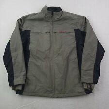 Vintage Oakley Ski Jacket Mens 2XL XXL Gray Pink Rain Wind Snowboarder Outdoor