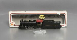 Bachmann 56514 HO Pennsylvania 2-6-0 Mogul Steam Loco w/Tender & Smoke #3233 EX