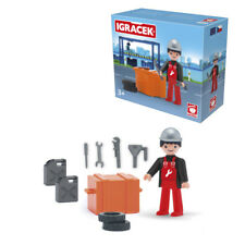 Pokeeto Igracek Car Mechanic Action Figure Brand NEW Playmobil