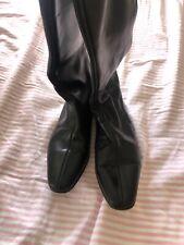 Manolo Blahnik Leather Boots 36.5
