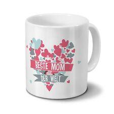 Tasse Beste Mom der Welt - Motiv Herz