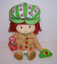 "Licensed ""Vintage"" STRAWBERRY SHORTCAKE 10"" PLUSH Character DOLL TOY NEW!!"