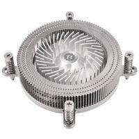 New Tt Computer Desktop CPU Cooler Engine 27 mm Aluminum Alloy PWM Fan