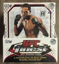 2011 Topps Finest UFC Factory Sealed Hobby Box