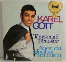 "KAREL GOTT - Tausend Fenster (Udo Jürgens 👉 7"" Single -Polydor 1968 -VG++"