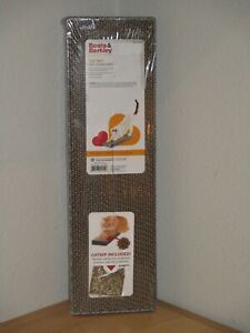 Boots & Barkley Cat Scratcher Corrugate Durable With Catnip Brand New Package