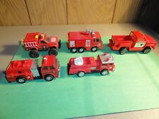 VINTAGE TONKA , REMCO , NuTOYZ , FIRE & RESCUE & PICKUP 1- FIRE TRUCK NO NAME
