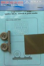 Aires 1/32 Spitfire Mk. IX Wheels and Paint Masks for Tamiya kit # 2128