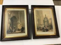 Handcolored Engravings Haghe's Portfolio 1850 Great Frames