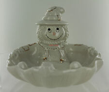 Lenox Scarecrow Candy Dish Bowl - Halloween Fall