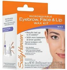 Sally Hansen Microwaveable Eyebrow, Face - Lip Wax Kit