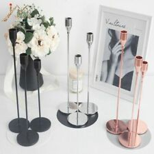 Metal Candle Holders Candlestick Wedding Candle Stand Christmas Table Home Decor