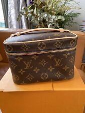 Louis Vuitton Mini Nice Vanity Case Bag Monogram NEW AUTHENTIC
