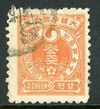 Korea 1900 Definitive 3 Ch Perf 10 Vfu J451