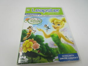 Leap Frog Leapster & Leapster 2 Disney Fairies Tinkerbell Learning Game