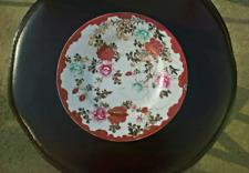 Japanese Dai Nippon Porcelain Glaze Plate Late Meiji Period Mark ?