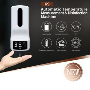 2 in 1 Automatic  Soap Dispenser with Digital Thermometer office home sanitizer