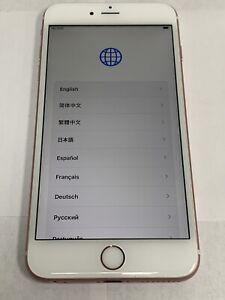 Apple iPhone 6s Plus - 64GB - Rose Gold (Unlocked) A1634 (CDMA + GSM) c426