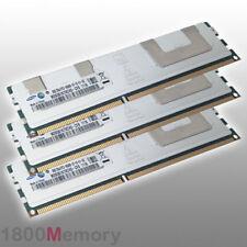 Apple Mac Pro 24GB Memory 3x 8GB 1066MHz DDR3 PC3-8500 ECC RAM Xeon 4 8 12 Core