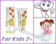 Bilka HOMEOPATHY Kids 2+ORGANIC Toothpaste 50ml Safe&Tasty Fluoride & Sugar Free