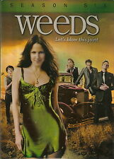 WEEDS - Season 6. Mary-Louise Parker, Demian Bichir (3xDVD SLIM BOX SET)