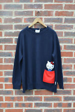 Chinti and Parker Meets Hello Kitty Pocket Ladies 100% Cashmere Jumper Small &