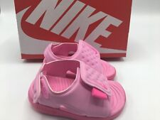 Nike Sunray Adjust 5 TD Psychic Pink Toddler Sports Sandals Size 7c Aj9077-601