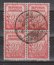 Indonesia 79 sheet TOP CANCEL BANDOENG  Cijfer 1951 : NU VEEL MEER INDONESIE