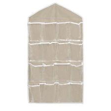 Home Door Hanging Bag Clear Over Shoe Rack Hanger Organizer Storage 16 Pockets