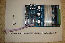 CNC TB6560 stepper motor driver I/O Limits Cable E-stop