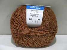 Tedman & Kvist Summer Breeze Butterscotch linen/cotton blend Knit Crochet Weave