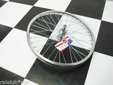 "RRC 20"" Chrome Steel Rear 5 Speed BMX Muscle Bike Bicycle Wheel"